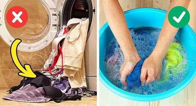Giặt riêng đồ lót