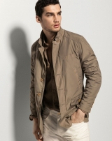 Áo khoác nam Massimo Dutti Technical Fabric Jacket AK193