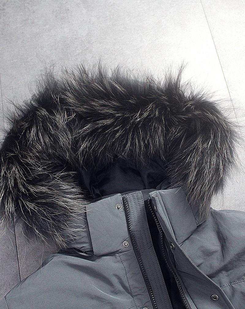 Áo khoác lông vũ namparka Lanzi