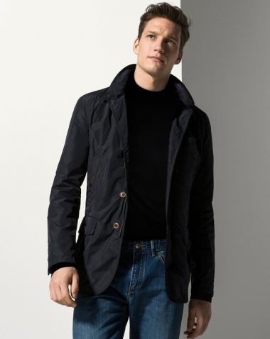 Áo khoác nam Massimo Dutti Technical Fabric Jacket AK216
