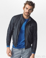 Áo khoác Massimo Dutti Bomber Style Jacket With Foldable Detail AK149
